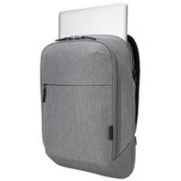 """Tietokonereppu Targus CityLite Pro Slim 12""""-15.6"""" harmaa - ohut ja tyylikäs reppu"""