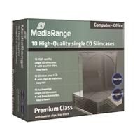 CD-kotelo slim musta/kirkas/10