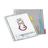 Selailutelineen tasku Durable Function 5607 punainen /5 kpl
