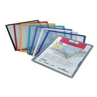 Selailutelineen tasku Durable Sherpa 5606 musta /5 kpl
