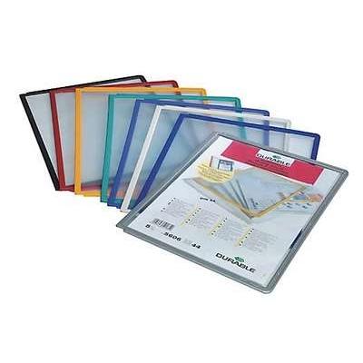 Selailutelineen tasku Durable Sherpa 5606 harmaa/5 kpl