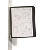 Seinäteline - selailuteline - pikahakuteline  magnettinen Durable magnet wall A4 5914 + 5 taskua