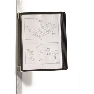Seinäteline magnettinen Durable magnet wall A4 5914 5 taskua