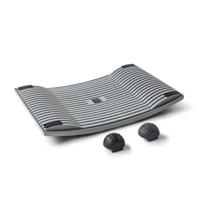 Aktivointilauta Gymba harmaa - helppoa liikuntaa työn ohessa, mukana myös hierontapallot!