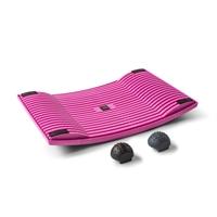Aktivointilauta Gymba roosa - helppoa liikuntaa työn tai opiskelun ohessa, mukana hierontapallot
