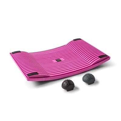 Aktivointilauta Gymba roosa - helppoa liikuntaa työn ohessa, mukana myös hierontapallot!