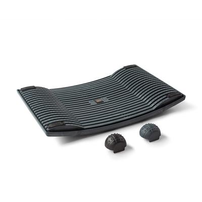 Aktivointilauta Gymba grafiitti - helppoa liikuntaa työn tai opiskelun ohessa, mukana hierontapallot