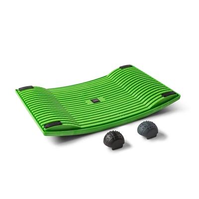 Aktivointilauta Gymba vihreä - helppoa liikuntaa työn ohessa, mukana myös hierontapallot!