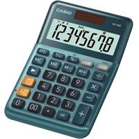 Pöytälaskin Casio MS-80E - valokennolla toimiva paristovarmennettu laskin