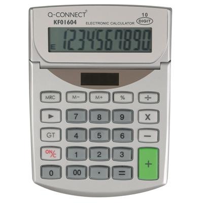 Pöytälaskin Q-Connect 10-numero KF01604