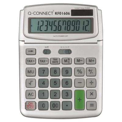 Pöytälaskin Q-Connect 12-numero iso KF15758
