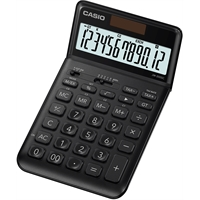 Pöytälaskin Casio JW-200SC-BK musta