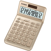 Pöytälaskin Casio JW-200SC-GD kulta