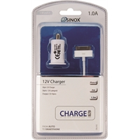 Autolaturi 12V iPhone 4/4S 30 pin 1A