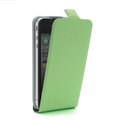 Pystylaukku CellyFACE Apple iPhone4/4S lime