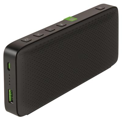 Kaiutin + varavirtalähde Leitz Bluetooth Mobile  musta