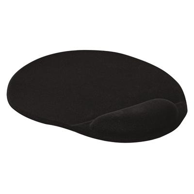 Hiirialusta/rannetuki Q-Connect geeli musta