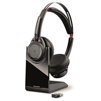 Kuuloke Plantronics Voyager Focus US B825 Bluetooth - akunkesto 15 h, toimii 2 laitteessa yhtaikaa