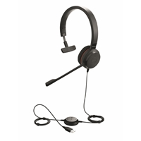 Kuuloke Jabra Evolve 30 II MS mono - melua vaimentava mikrofoni