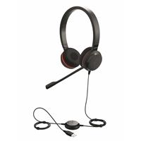 Kuuloke Jabra Evolve 30 II MS stereo - melua vaimentava mikrofoni ja kaukosäädin