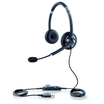Kuuloke Jabra UC Voice 750 MS Duo musta