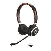 Kuuloke Jabra Evolve 65 MS langaton stereo - akun kesto 10 h, kantoalue 10 m