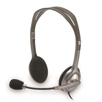 Kuuloke Logitech H111 liitin 3,5 mm stereo