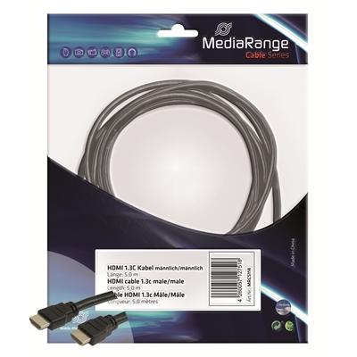Videokaapeli HDMI-HDMI 5m versio 1.4
