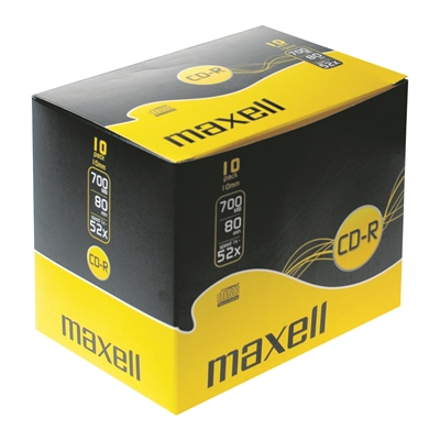 CD-R Maxell 80 XL-S / 10mm case/10