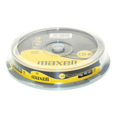 CD-R Maxell 52x 700MB/80 min spindle/100