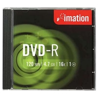 DVD-R Imation 16X 4.7GB/120min