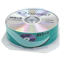 DVD+R Q-Connect 4.7GB spindle/25 kpl