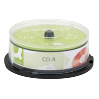 CD-R Q-Connect 52x70 0MB/80min spindle/25