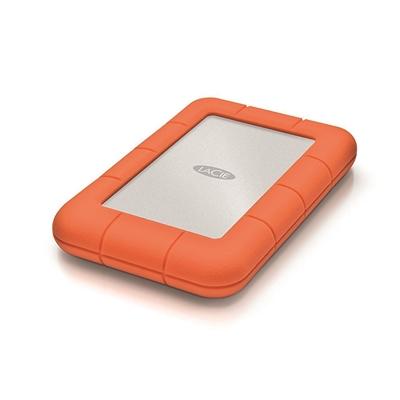 Ulkoinen kiintolevy LaCie Rugged mini 1TB USB 3.0 - iskunkestävä!