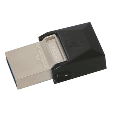 Muistitikku Kingston DTDUO3/16GB USB-microUSB 3.0
