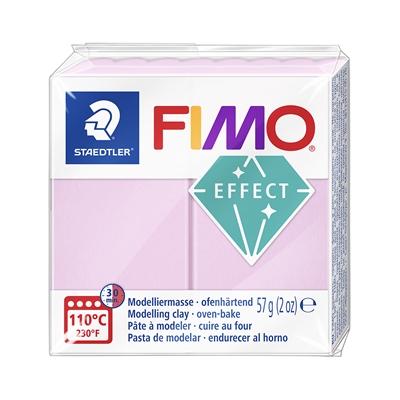 Askartelu- ja muovailumassa Staedtler Fimo 57 g effect light pink - uunissa kovetettava
