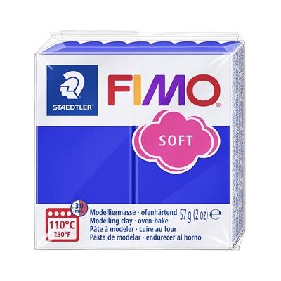 Askartelu- ja muovailumassa Staedtler Fimo 57 g soft brill blue - uunissa kovetettava