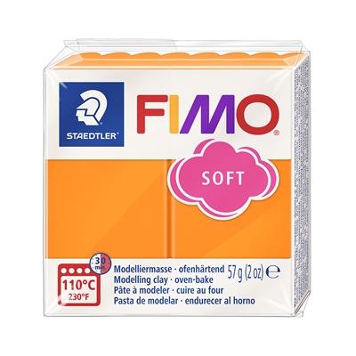 Askartelu- ja muovailumassa Staedtler Fimo 57 g soft tangerine - uunissa kovetettava