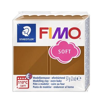 Askartelu- ja muovailumassa Staedtler Fimo 57 g soft caramel - uunissa kovetettava