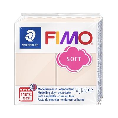 Askartelu- ja muovailumassa Staedtler Fimo 57 g soft flesh light - uunissa kovetettava