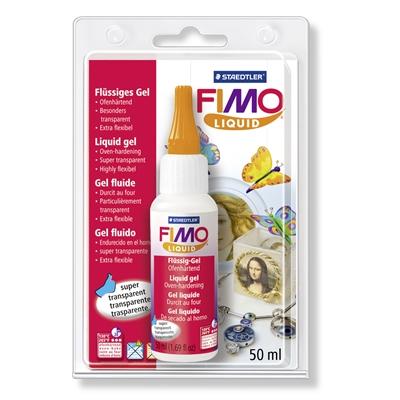 Lakka Fimo Deco geeli 50 ml - voit kiinnittää kuvia tai efektejä kovettuneen massan pintaan