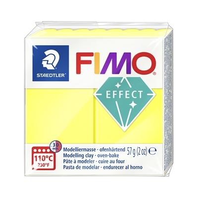 Askartelu- ja muovailumassa Staedtler Fimo 57 g effect neon yellow - uunissa kovetettava