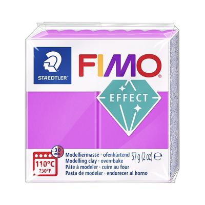 Askartelu- ja muovailumassa Staedtler Fimo 57 g effect neon purple - uunissa kovetettava