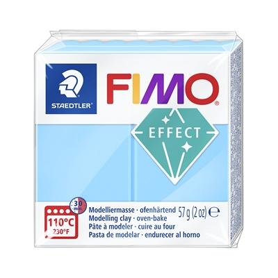 Askartelu- ja muovailumassa Staedtler Fimo 57 g effect neon blue - uunissa kovetettava
