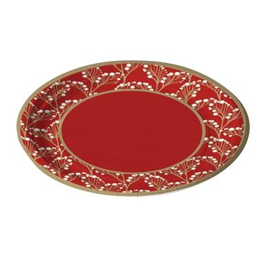 Lautanen Havi Pro Garland punainen 18cm /40 kpl