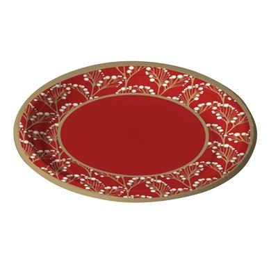Lautanen Havi Pro Garland punainen 22cm /40kpl