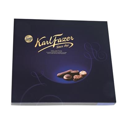 Suklaa Karl Fazer Collection 825g - kokoelma Fazerin hienoimpia suklaakonvehteja