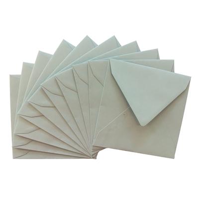 Kirjekuori vaaleansininen neliö 16x16 120g /10 kpl pkt