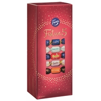 Suklaakonvehti Fazer Festive 5 sekoitus 500 g - Sininen, Geisha, Dumle, Fazermint ja Fazerina