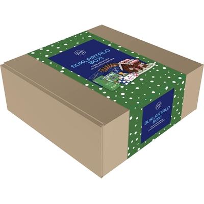 Suklaatalo Fazer 1,96 kg boxi - sisältää kaiken tarvittavan upean suklaatalon rakentamiseen